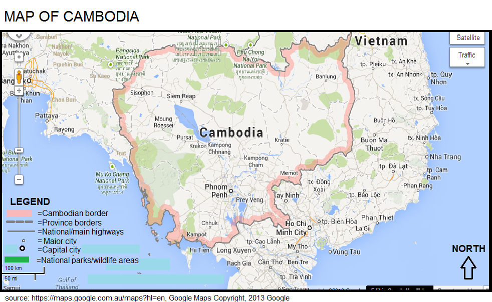Map Of Cambodia Boltss Cambodia